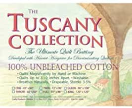Hobbs Tuscany Quilt Batt Unbleached Cotton Queen