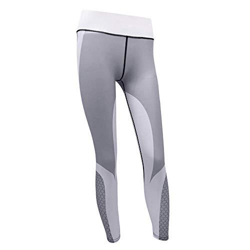 Elodiey 2020 Summer Ladies Yoga Leggings Pantalones Impresión Deportivos Negocios 3D Gym Skinny Pants Patrón De Malla Imprimir Fitness Leggings High Waist Sport Workout Leggins Jogging Pantalones Elás