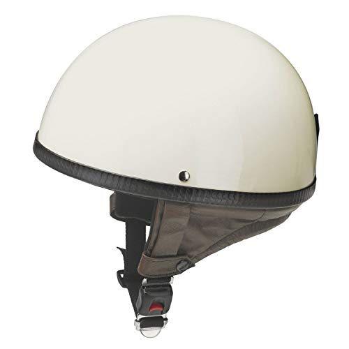 Redbike Helm RB-500 Halbschale Retrohelm Eierschale elfenbein L