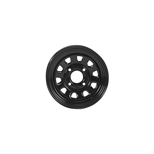 ITP Delta Steel Wheel (Front/Rear Wheel / 4/156 4+3 14x7) (Black) Compatible with 14-19 Polaris RANRZR1000XE -  1425579014B