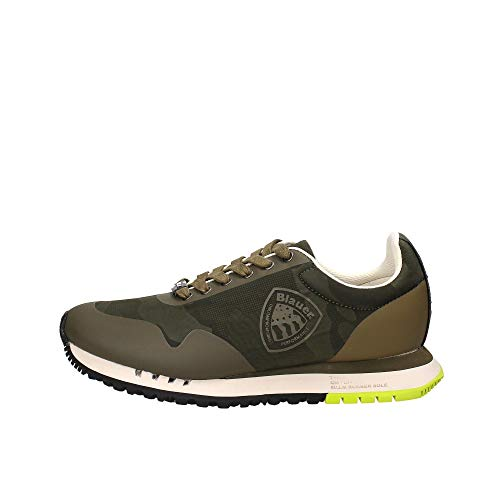Blauer S0denver02 - Zapatillas deportivas para hombre Verde Size: 44 EU