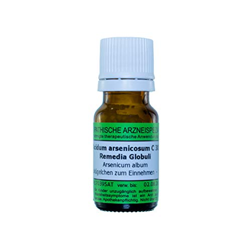Acidum arsenicosum C30, 10g Globuli