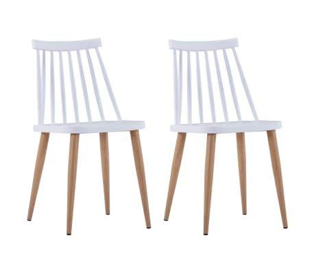 ikea witte plastic stoel