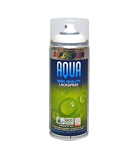 Dupli-Color 252570 Aqua weiß 9010 matt 350 ml