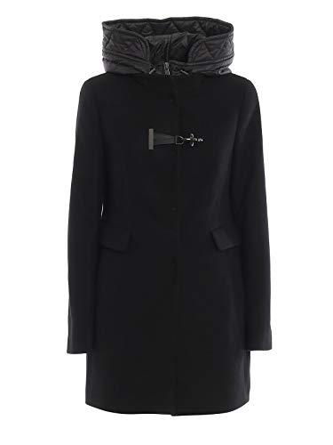 Fay Luxury Fashion Donna NAW59393430RCPB999 Nero Lana Cappotto   Autunno-Inverno 19