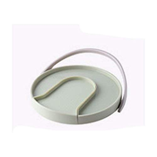 QHHALXZ Conveniente caja de almacenamiento giratoria de 360 °, caja de almacenamiento de gabinete de cocina, caja de almacenamiento extraíble (color: B)