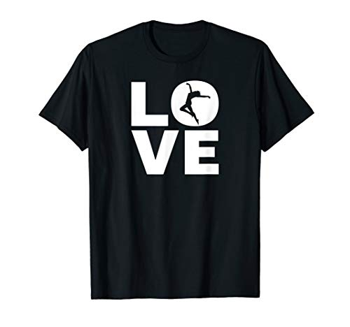 Love Tanzen - Ich Liebe Tanzen - Tänzer & Dancer Geschenk T-Shirt