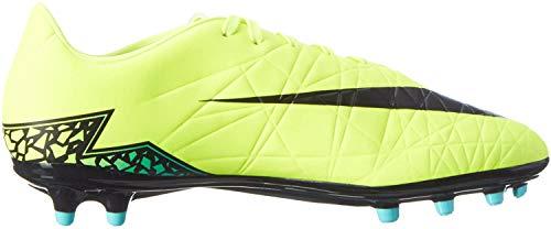 Nike - Hypervenom Phelon II FG, Scarpe da calcio Uomo, Giallo (Amarillo (Amarillo (Volt/Black-Hyper Turq-Clr Jade))), 42.5 EU