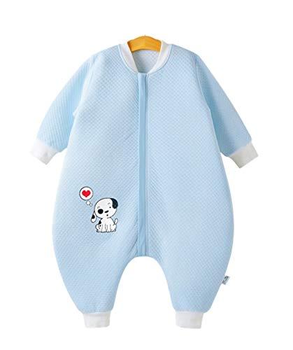 Eastery babyslaapzak voor lente, herfst, eenvoudige stijl voor kinderen zonder inwikkelen, met huid, 100% katoen voor temperaturen boven 20 graden, 1# XL lichaamslengte