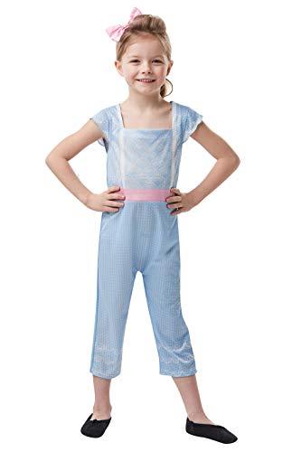 Rubies disfraz clásico de Disney Toy Story 4, Bo Peep para niñas, tamaño mediano – edad de 5 a 6 años