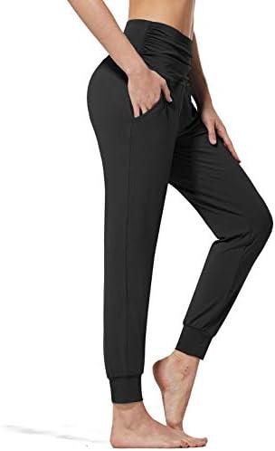 BALEAF Women s Lightweight Joggers High Waisted Harem Pants Workout Yoga Sweatpants Soft Hiking product image