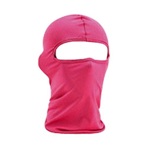Bluelans® Pink Balaclava Sturmhaube Sturmmaske Winddichte Motorradmaske Skimaske Gesichtsmaske