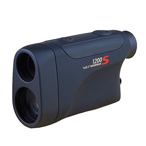 AIZYR Binoculares De Telémetro, Telémetros De Golf GPS - Buscador De Rango De Ingeniería, Alta Precisión 1200 M De Alcance, Telescopio Láser, Sentirse Cómodo