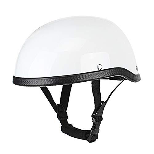 KKmoon Motorrad Helm Retro Stil Motorradhelm ABS + Baumwolle Motorrad halbhelm für Motorradfahrer Biker Ridder (Einheitsgröße) Universal waschbar