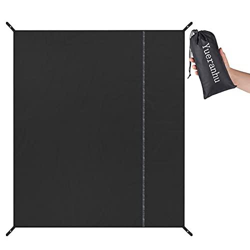 Yueranhu グランドシート テント シート 防水 190×190㎝ 270×270㎝ 大判 アウトドア キャンプ 登山 ピクニック マット レジャーシート 収納袋付き