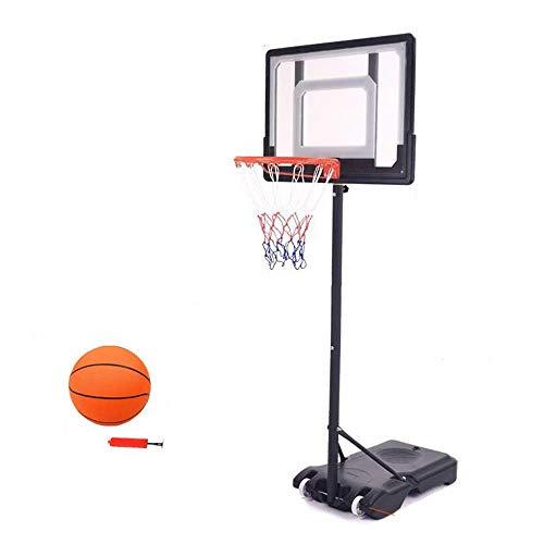 XINGLIAN Basketballkorb Höhenverstellbar Mit Rädern Tragbar Kinder Basketball-Ständer Jugendliche Für Das Training Im Freien (Color : C)