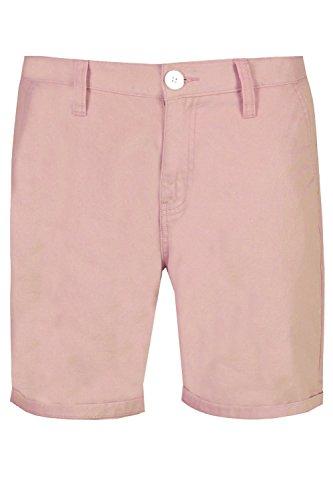Brave Soul Herren Chino Short, Einfarbig Kurze Hose Shorts Gr. Small, Pale Pink