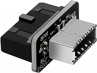 TYPEC Plug-in Port Portable Vertical Main Board Connector Socket USB3.019P/20P To TYPE-E Fine Artwork