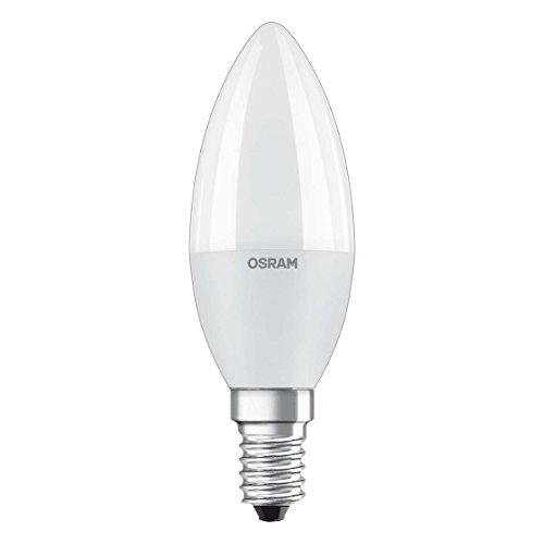 Osram LED Star Classic B Lampe, Sockel: E14, Warm White, 2700 K, 8 W, Ersatz für 60-W-Glühbirne