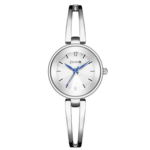 Yivise Reloj de Pulsera Elegante para Mujer Cinturón de Ace