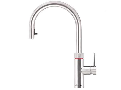 Quooker Flex PRO3-VAQ B Kochendwasserhahn/Kochendwasser-Armatur & Mischbatterie/ausziehbarer Auslauf/Edelstahl (RVS)