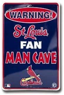 Dixie St. Louis Cardinals Man Cave Parking Sign