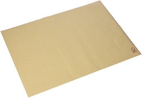 Morigami Mantel Individual, 30 x 40 Cm, Gofrado, 48 Gramos, Kraft 100% Natural, Set de 800 unidades