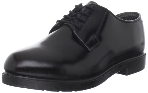 Bates Women's Leather DuraShock Oxford, Black, 6 N US