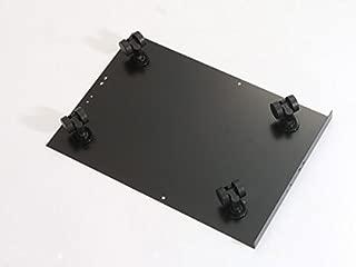 Bisley Caster Base for Steel Under Desk Multidrawer Cabinet, Black (MDCAS)