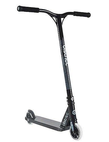 clasificación y comparación ZQ District 360 Freestyle Scooter Stunts, scooter profesional con atractivo diseño gráfico, negro + rojo para casa