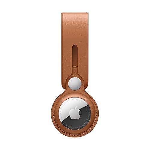 Apple Laccetto AirTag in pelle - Cuoio