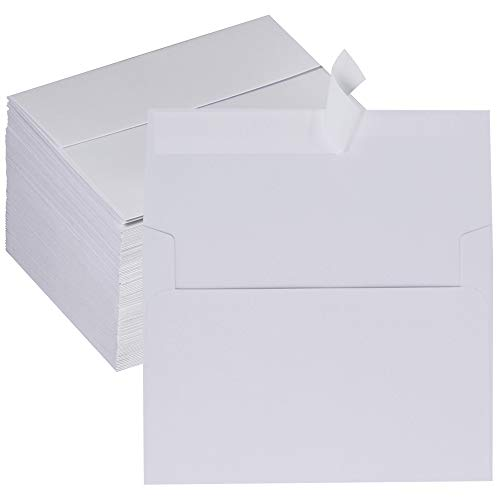 150 Pcs A2 Invitation Envelopes Self Seal White Envelopes A2 Greeting Cards Envelopes RSVP Envelopes Return Envelopes Business Envelopes Bulk for Wedding Party Invitations Announcement Thank you Cards