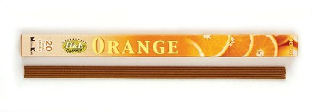 扇動するコンパニオン家庭HERB&EARTH Incense ORANGE オレンジ スティック 【お香】