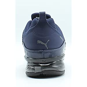 PUMA Men's Cell Regulate Running Shoe, Peacoat-Castlerock Black, 9.5