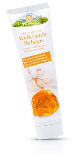 Dr. Ehrlichs Orientalischer Weihrauch Balsam 100ml - Die natürliche Weihrauchcreme - Ayurveda Hautpflege, für Muskel, Schulter, Knie, Nacken -schmerzen, Wohlbefinden bei Rückenschmerzen