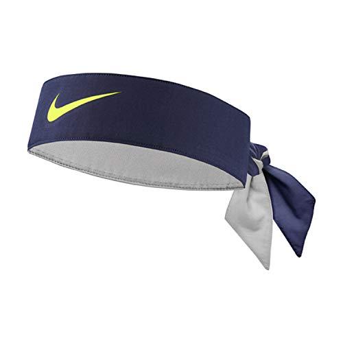 Nike Unisex – Adulto Dry-Fit Cinta para la Cabeza, Azul, Talla única