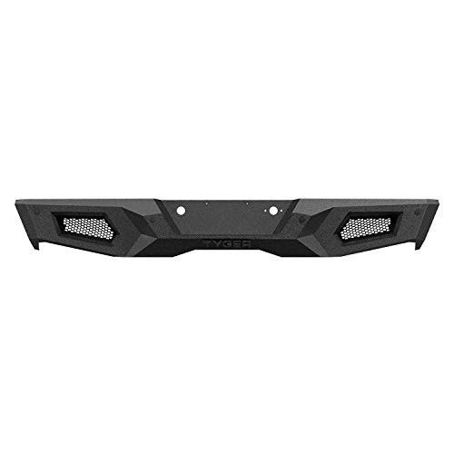 Tyger Auto TG-BP9C80498 Tyger Fury Rear Bumper Assembly Textured Black Compatible with 2014-2018 Chevy Silverado 1500/GMC Sierra 1500