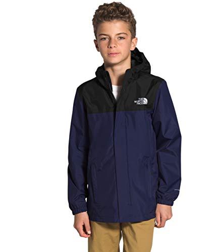 The North Face Boys' Resolve Reflective Jacket, TNF Navy, L