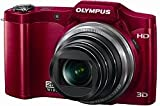 Olympus SZ-11 14MP 20x Optical Zoom 3d HD Digital Camera - Red