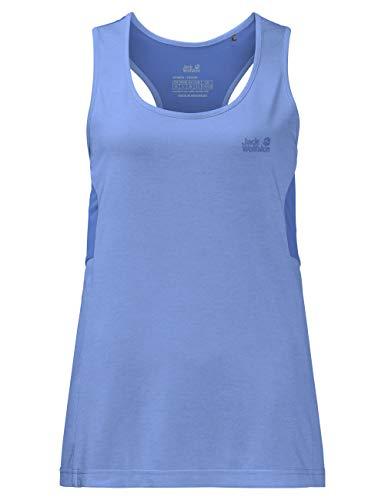 Jack Wolfskin T-Shirt croisé sans Manches pour Femme - Taille XL - Violet pâle
