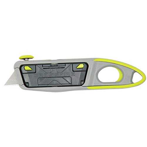 Clauss 18692 Crossfire Utility Knife with Rotatable Blade Carriage