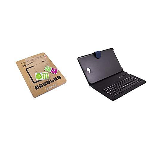 Silver HT - Pack Funda con teclado Bluetooth para Samsung Galaxy Tab...