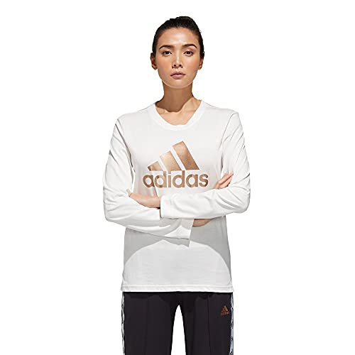 adidas W U-4-U LS T Camiseta, Mujer, blabas, 2XS