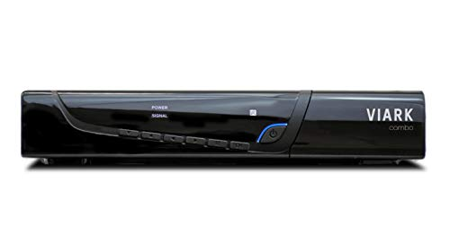 Viark Combo - Receptor Satélite Combo Full HD DVB-S2 Multistream + T2/C H.265/HEVC, con LAN, Antena WiFi USB y Lector de Tarjetas CA (Electrónica)