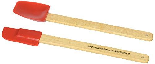 Norpro, Red 2-Piece Mini Spatula Set