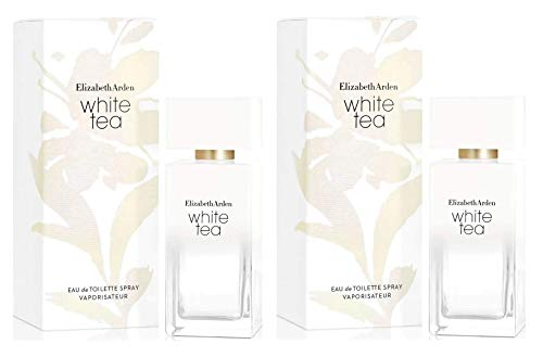 2 Perfumes White Tea Elizabeth Arden 50ml Lacrado - Selo Adipec