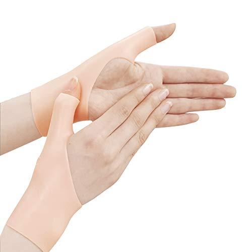 Tutore per polso in gel di silicone, protezione ortopedica per tunnel carpale, polsino in morbido gel, protezione per le mani, per chi lavora al computer e per fare esercizio fisico