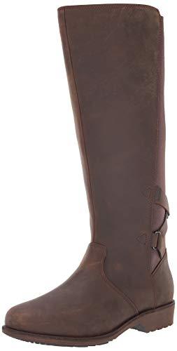 [Teva] レディース Ellery トール Wp ブーツ US サイズ: 7.5 カラー: ブラウン