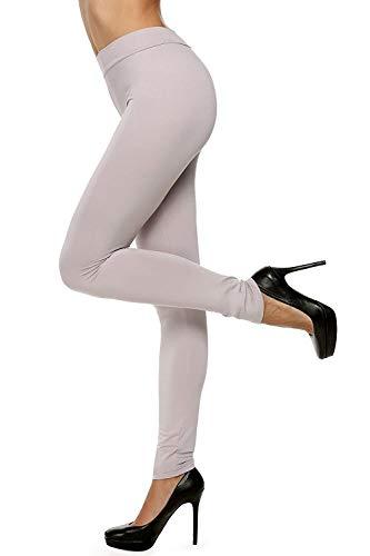 Dames Leggings met Brede Taille Elastische Lichaam Eenvoudige Glamoureuze Vormende Yoga Broek Ondoorzichtige Strech Leggings 8 Kleuren