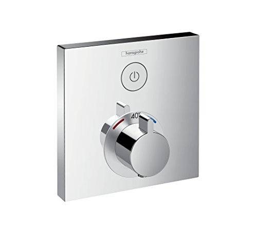 hansgrohe ShowerSelect Unterputz Thermostat, für 1 Funktion, Chrom